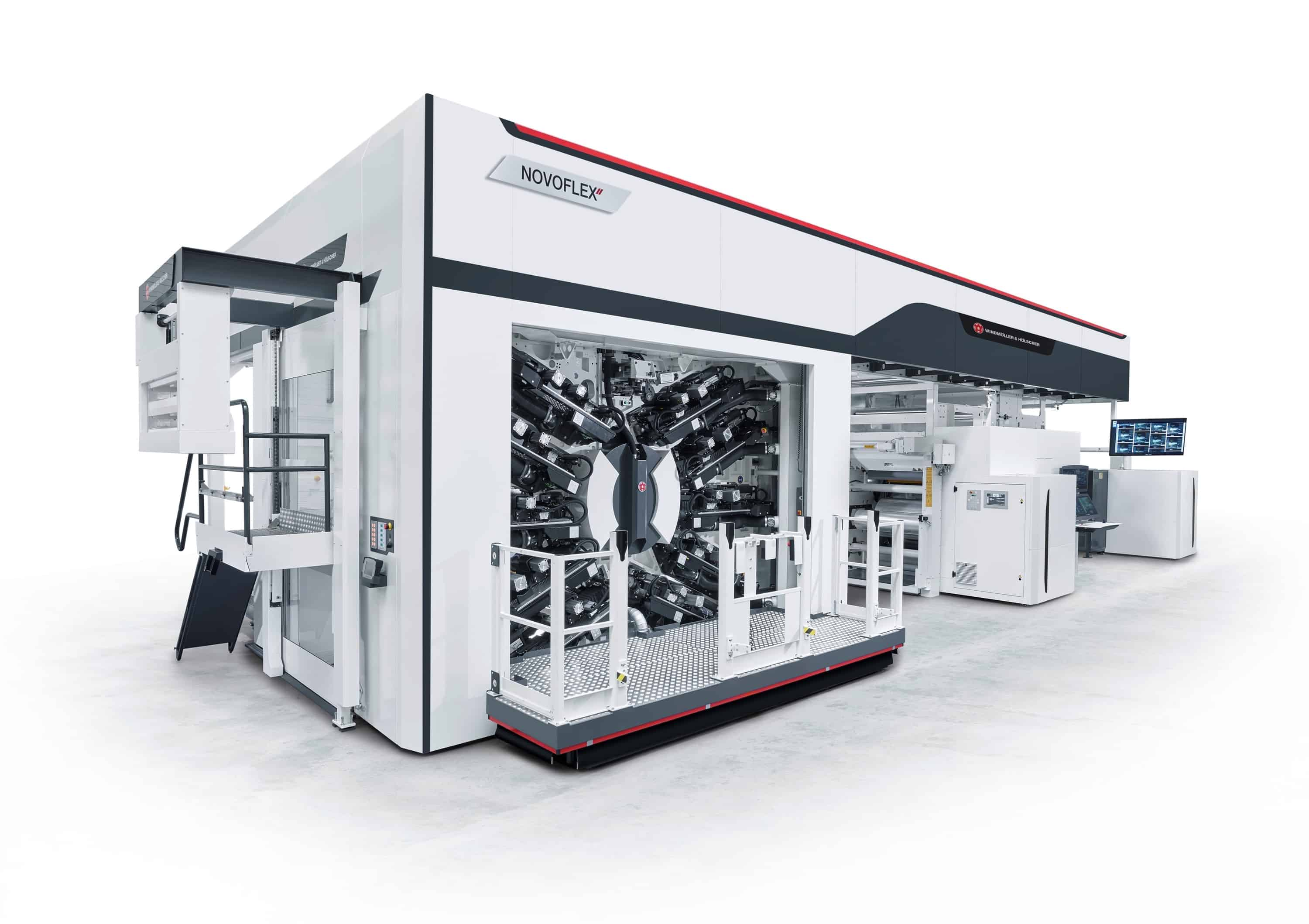 Optimizing flexographic, gravure and corrugated printing applications through inline viscosity monitoring and control