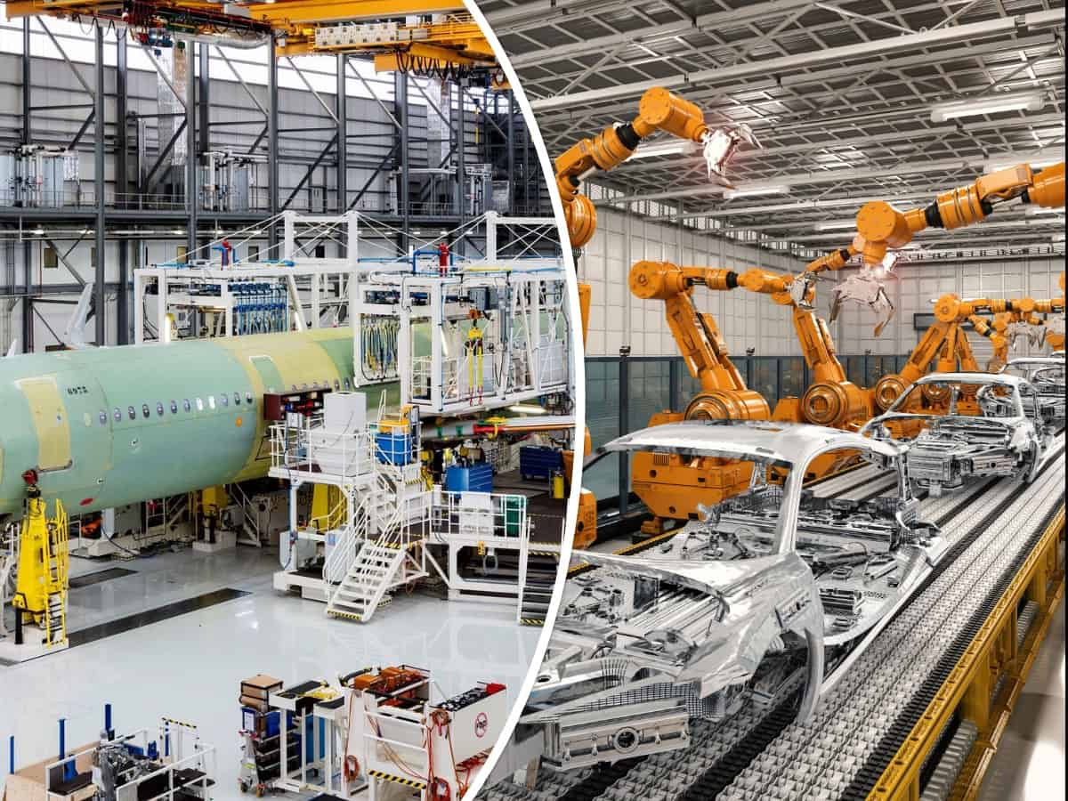 Automotive & airline industry - Composites manufacturing applications