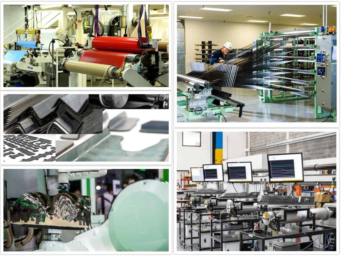 Industrial applications - curing