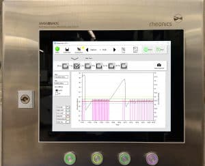 Rheonics' Viscosity and density Production Monitoring and Control System - food, beverages, batter, cream