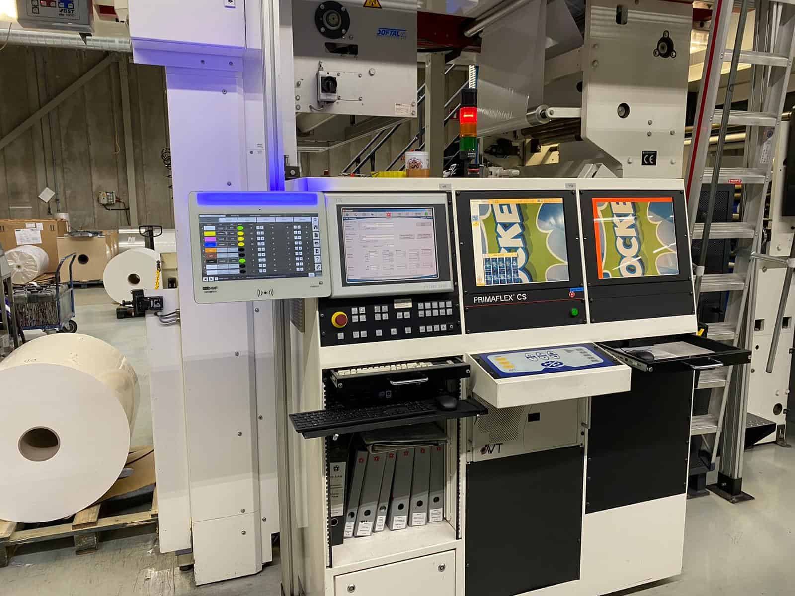 Maasmond Paperindustrie bv Oostvoorne in The Netherlands houses a W&H Primaflex CS press, equipped with viscosity sensors and other automated print quality control systems.